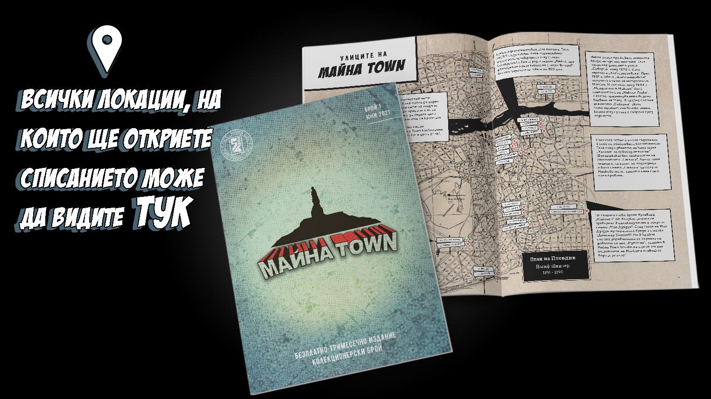Локации Списание Майна Town